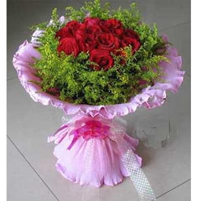 11枝红玫瑰,黄莺丰满。