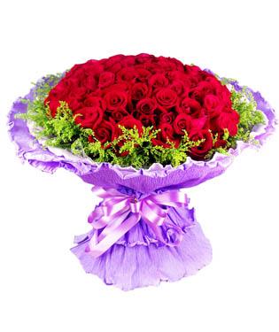 99朵红玫瑰,黄莺外围.