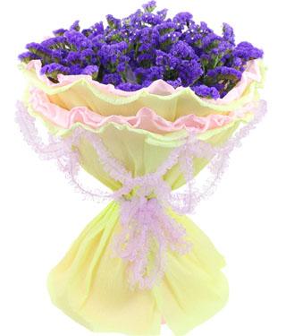 30枝紫色勿忘我;