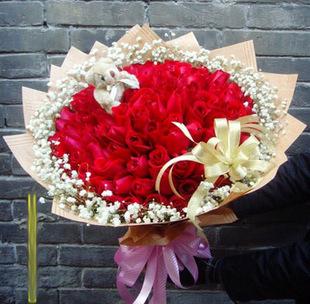 点击查看商品:33朵红玫瑰
