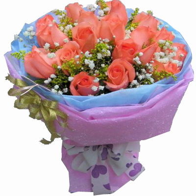 商品名称:18枝粉玫瑰/我们的约定