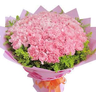 99朵昆明A级康乃馨花束