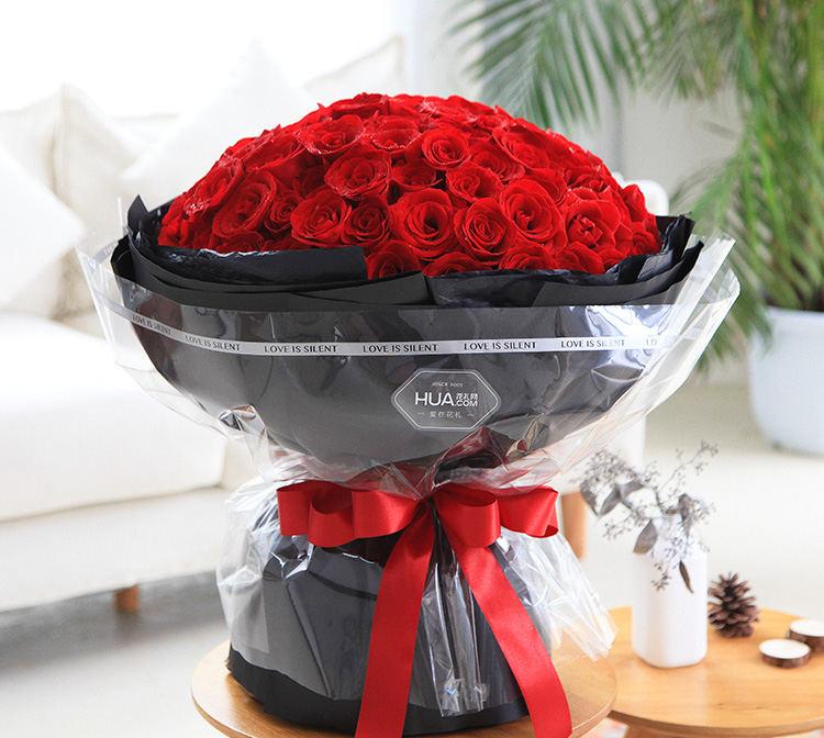 不变的承诺--99枝红玫瑰
